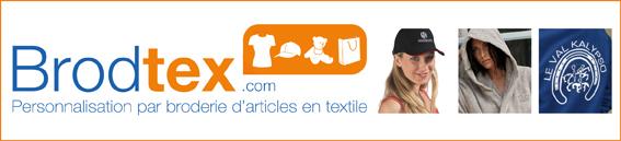 Brodtex.com, service de broderie Paris, Ile de France, Val d'Oise 95