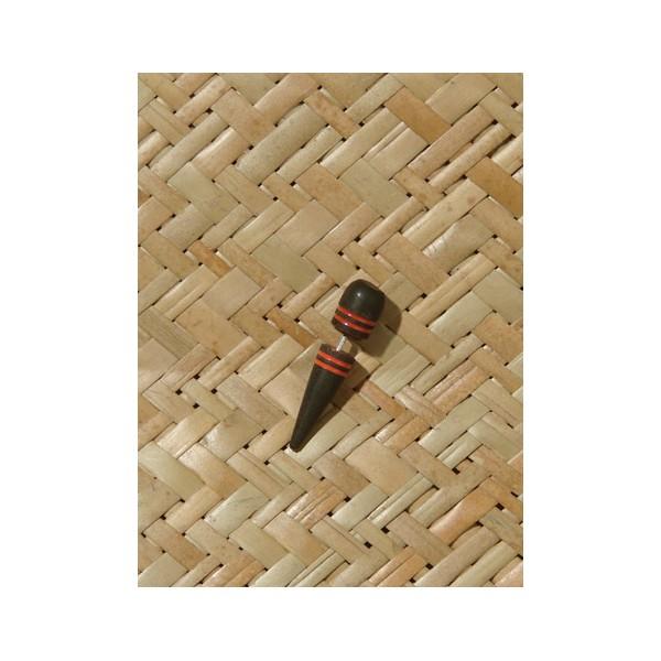 boucles d 39 oreilles en bois faux carteur ethnique. Black Bedroom Furniture Sets. Home Design Ideas
